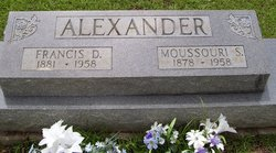 Missouri Ella <i>Spiers</i> Alexander
