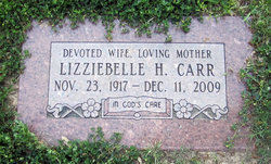 Lizziebelle H <i>Harrison</i> Carr