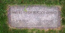 Harriet McNeill <i>Fonda</i> Warren