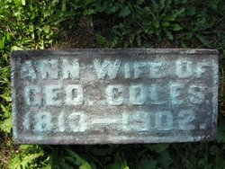 Ann <i>Phillips</i> Coles
