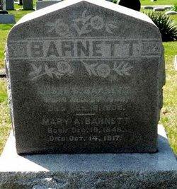 Mary A <i>Batterton</i> Barnett