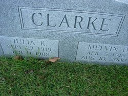 Julia K. <i>Pierce</i> Clarke