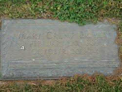 Mary <i>Crump</i> Bowen