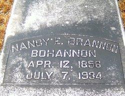 Nancy E. <i>Brannon</i> Bohannon