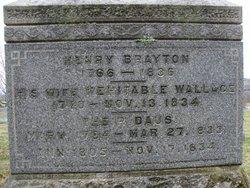Mehitable <i>Wallace</i> Brayton
