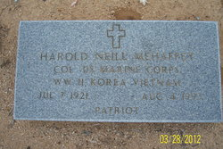 Harold Neill Mehaffey