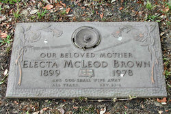 Electa <i>McLeod</i> Brown