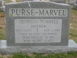 Alice Georganna Georgia <i>Tunnell</i> Marvel