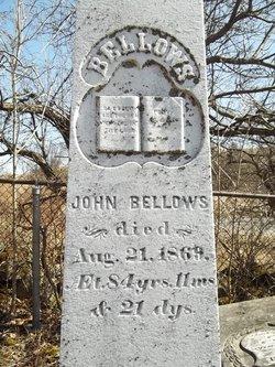 John Bellows, Jr