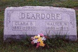 Clara Belle <i>Miller</i> Deardorf