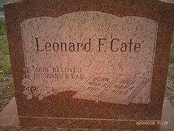 Leonard Franklin Cate