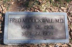 Dr Frederick Moomau Duckwall