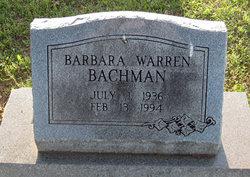 Barbara Warren <i>Day</i> Bachman