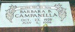 Barbara Anne Bobbie <i>Butler</i> Campanella