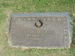 Annie M Alley