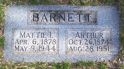 Martha Ida Mattie <i>Ellison</i> Barnett