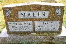 Bertha May <i>Rhoads</i> Malin