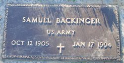 Samuel Backinger