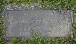 Pamela Joyce Alexander