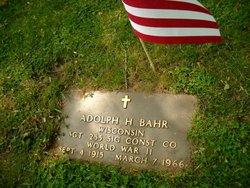 Adolph H. Bahr