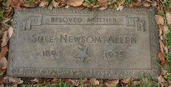 Sule Charlotta <i>Newsom</i> Allen