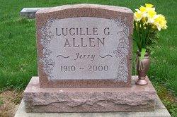 Lucille Geraldine Jerry <i>Crane</i> Allen