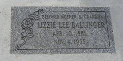 Lizzie Ballinger