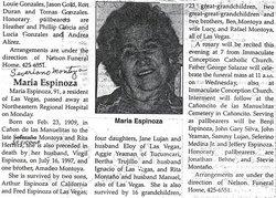 Ana Maria <i>Montoya</i> Espinoza