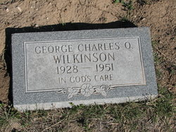 George Charles O. Wilkinson