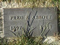 Fred Ernest Abbott