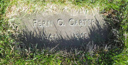 Fern G. <i>Oldham</i> Carter