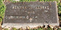 Bertha N Albert