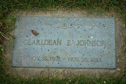 GearlDean E. Johnson