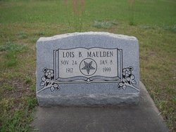 Lois B Maulden