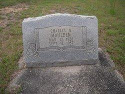 Charles H Maulden