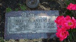 Mary G. <i>Gutierrez</i> Antunez
