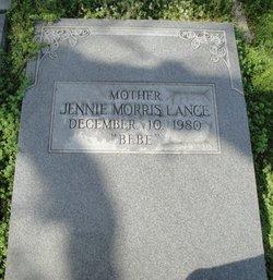Jennie Bebe <i>Morris</i> Lance