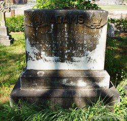Margaret Adeline <i>Denison</i> Adams