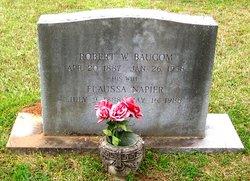 Robert W Baucom