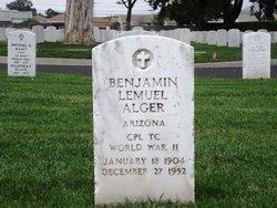 Benjamin Lemuel Alger