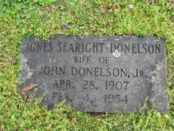 Agnes <i>Searight</i> Donelson