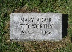 Mrs Mary <i>Adair</i> Stollworthy