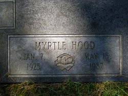 Myrtle <i>Hood</i> Fallin