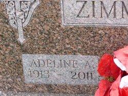 Adeline A <i>Benz</i> Zimmermann