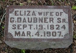 Eliza <i>Marshall</i> Daubner