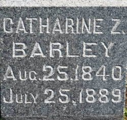 Catherine <i>Zeller</i> Barley