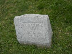 Elizabeth F. Riott