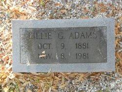 Lillie G. Adams