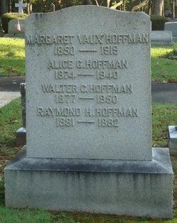 Margaret <i>Vaux</i> Hoffman