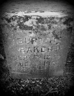 Burt H Baker